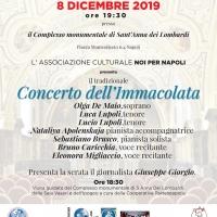 Noi per Napoli tra gli Eventi del Natale 2019 ed il Capodanno 2020