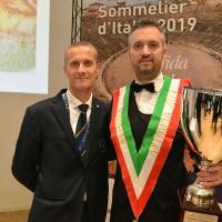 A VERONA VALENTINO TESI MIGLIOR SOMMELIER D'ITALIA PREMIO TRENTODOC