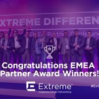 Extreme Networks premia per l'Italia Aditinet e ITI Sistemi alla EMEA Partner Conference di Atene