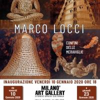 L'arte di Marco Locci alla Milano Art Gallery con I confini delle meraviglie