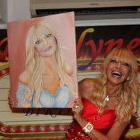 Daniele Pacchiarotti dipinge l'iconica Roselyne Mirialachi