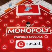 Casa.it entra nella storia di MONOPOLY, il gioco di contrattazione più famoso del mondo, annunciando la sua Edizione Speciale