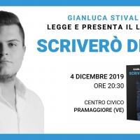 Lo scrittore Gianluca Stival presenta il suo ultimo libro