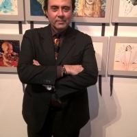 Massimo Paracchini espone un'opera alla Mostra Angeli & Artisti a Siena