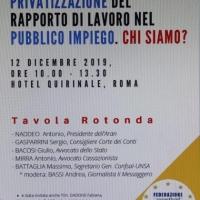 Lavoro pubblico, Battaglia (UNSA):