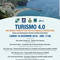 La Penisola Sorrentina eletta come meta da sogno per antonomasia, lunedì 16 a Vico Equense si svolgerà un incontro sul Turismo 4.0