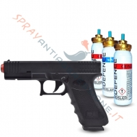 Pistola al peperoncino GLOCK GD-105: la tua sicurezza non è mai stata così professionale
