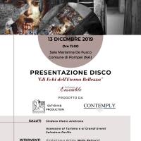 Presentato il disco prodotto da Satyr MB Production con melodie composte immaginando di passeggiare nella città antica di Pompei