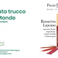 Frais Monde - Giornata trucco con nuovo Red - Rossetto Liquido