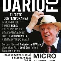 A Roma un Dario Fo inedito: la mostra a cura di Sgarbi e Nugnes viene affiancata da artisti contemporanei