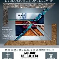 Milano Art Gallery: la personale Evoluzione porcellana di Silvana Landolfi presentata da Nugnes e Villa
