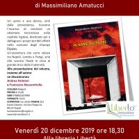 """""""In nome del padre"""" di Massimiliano Amatucci sarà presentato venerdì 20 dicembre 2019 alla libreria Libertà di Torre Annunziata"""