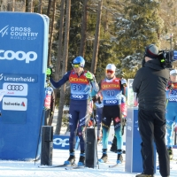 Finisce a Dobbiaco il Tour de Ski di Francesco De Fabiani