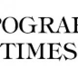 Typography Times il font nato in tipografia, anche se noi lo chiamiamo ancora