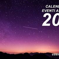 Su COSMOBSERVER il calendario degli eventi astronomici del 2020