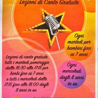 Riprenderanno a febbraio le lezioni di canto gratuite per bambini a Villa Lanza