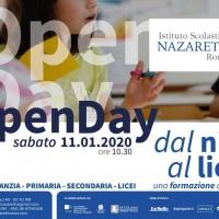 Roma, Istituto Nazareth inaugura terzo open day