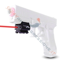 Pepper gun GD-105: disponibili su Sprayantiaggressione.it fondina e Laser micro JS-Tactical