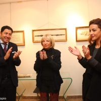 La mostra antologica di Marco Locci apre tra gli applausi alla Milano Art Gallery