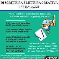Laboratori gratuiti di scrittura e lettura creativa a Lucca