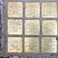 """-Napoli """"Stolpersteine-Pietre di Inciampo"""" in Memoria delle Vittime della Shoah (Scritto da Antonio Castaldo)"""