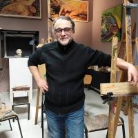 Alessandro Marrone inaugura un nuovo studio di pittura