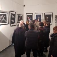Luigi Gattinara: Milano Art Gallery colma di amici e commozione per l'ultima personale del fotografo
