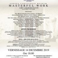 Masterfull work, in mostra le opere gioiello presso Museo contea del Caravaggio. Storicizzati e talenti scelti e premiati da tutto il mondo