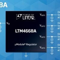Analog Devices presenta nuovi regolatori µModule® DC/DC a quattro uscite