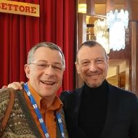 """AMADEUS Saluta la Banda Pasquale Anfossi di TAGGIA dal 70° Festival di Sanremo 2020 dal 4 all'8 Febbraio Teatro """"Domenico Modugno"""" Ariston"""