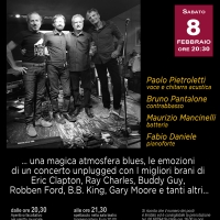 The Blues Way acoustic quartet, al Teatro Arciliuto di Roma (8 febbraio)
