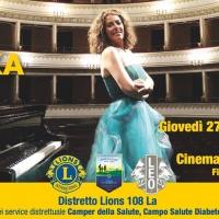 Cristiana Pegoraro per il Distretto Lions 108 La