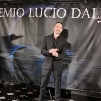 Grande successo per Luca Maris ospite al Premio Lucio Dalla a Sanremo 2020