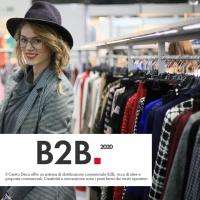 B2B  distribuzione Centro Deca – scambio commerciale di prodotti o servizi tra aziende