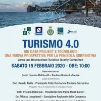 La Penisola Sorrentina, una destinazione Quality Committed nel workshop sul Turismo 4.0 a Massa Lubrense sabato 15 febbraio