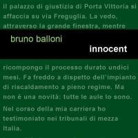 """Project annuncia l'uscita del nuovo romanzo di Bruno Balloni """"Innocent"""""""