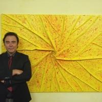 Massimo Paracchini espone un'opera alla Meeting Art