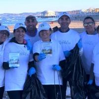 Volontari per l'ambiente ripuliscono l'area del porto di Senigallia