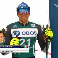 De Fabiani 13° allo Ski Tour