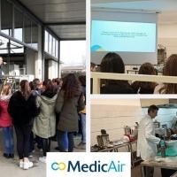 Medicair: una mattinata in azienda per gli studenti di Vigonza