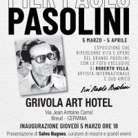 Pier Paolo Pasolini: la mostra antologica a cura di Sgarbi in Cervinia