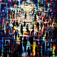 La pittura di Davide Romanò protagonista in Fiera Arte Genova 2020