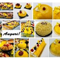 La mimosa si fa torta, mignon e tronchetto ai Quartieri Spagnoli di Napoli con la pasticceria Seccia