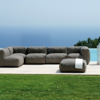 Set Componibile Portland di Moia – Your Home Outdoor. Versatilità e colore per un'oasi di relax.