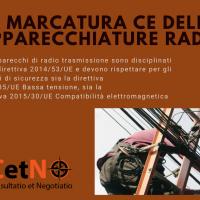 CHI DEVE EFFETTUARE LA MARCATURA CE DELLE APPARECCHIATURE RADIO?