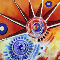 Nevèl, l'artista della rosa di Spoleto Arte per l'appuntamento di Tgcom24