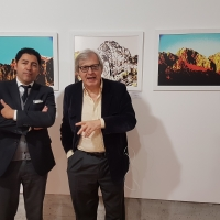 Spoleto Arte: intervista a Gino Maria Sambucco, protagonista del servizio al Tgcom24