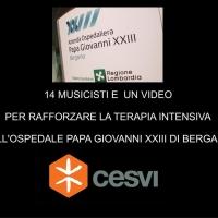 14 artisti danno vita ad un video per raccogliere fondi destinati all'Ospedale di Bergamo
