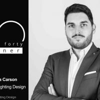 Un Italiano tra i 40 migliori lighting designer al mondo