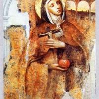 la vita di Santa Veronica Giuliani | Fanciullezza (1660-1677)